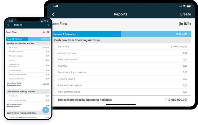 Access financial reports anywhere